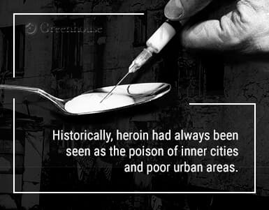 heroin in poor areas