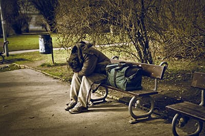 homeless and addiction