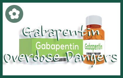 "3D illustration of ""Gabapentin"" title on pill bottle isolated on white."