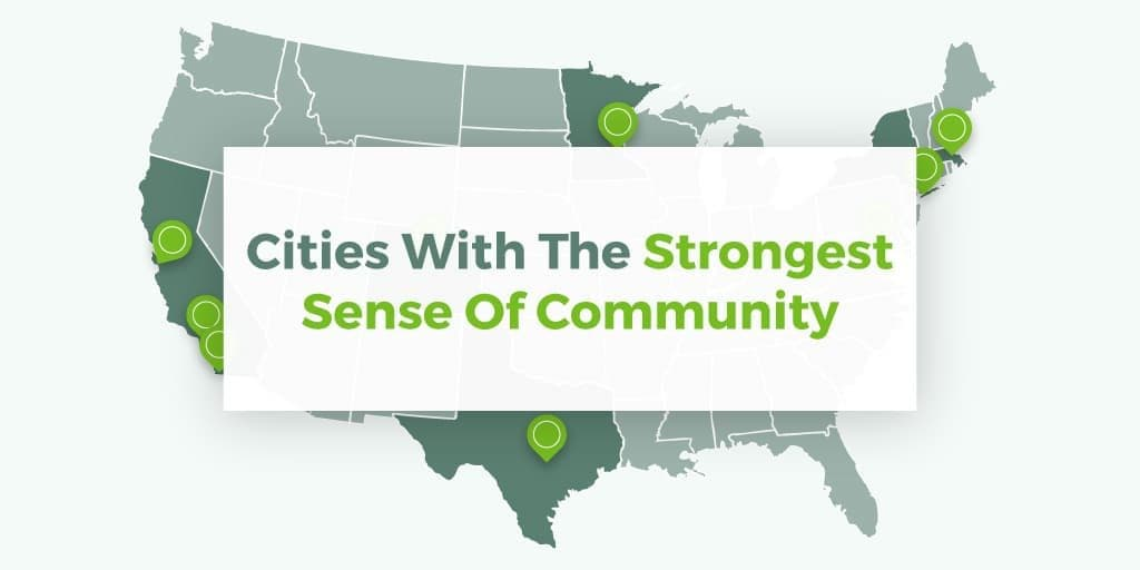 Cities With The Strongest Sense Of Community